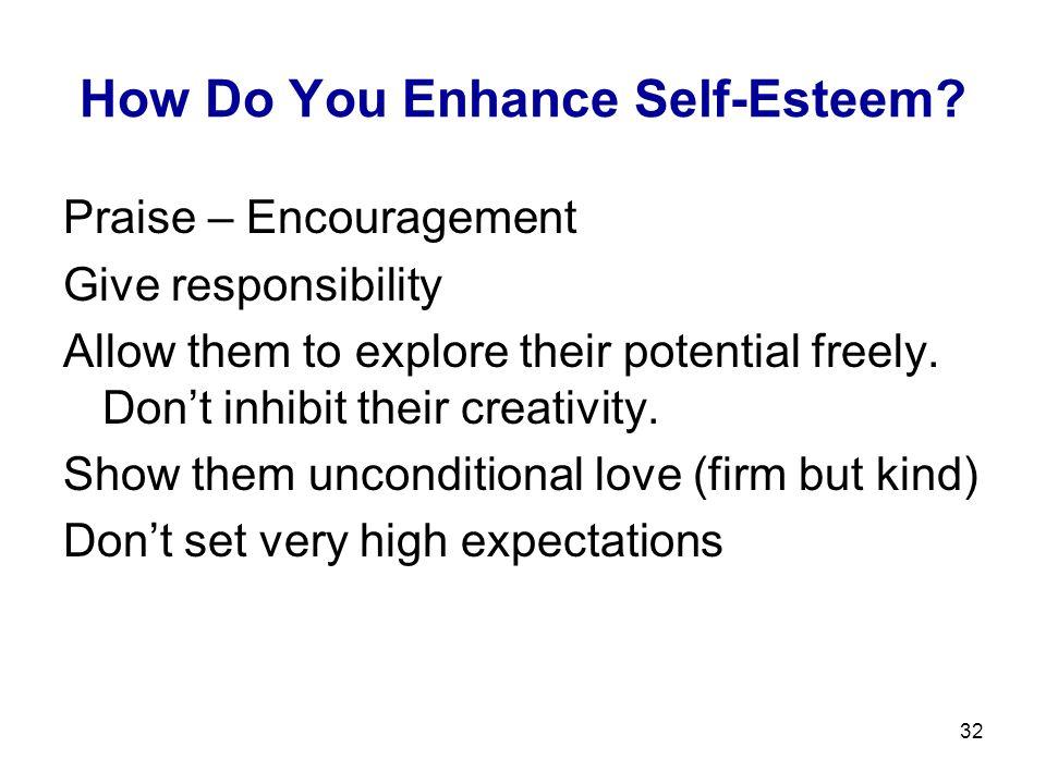 How Do You Enhance Self-Esteem