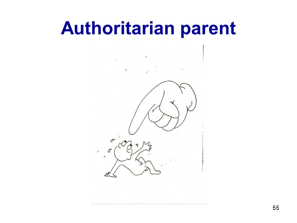 Authoritarian parent