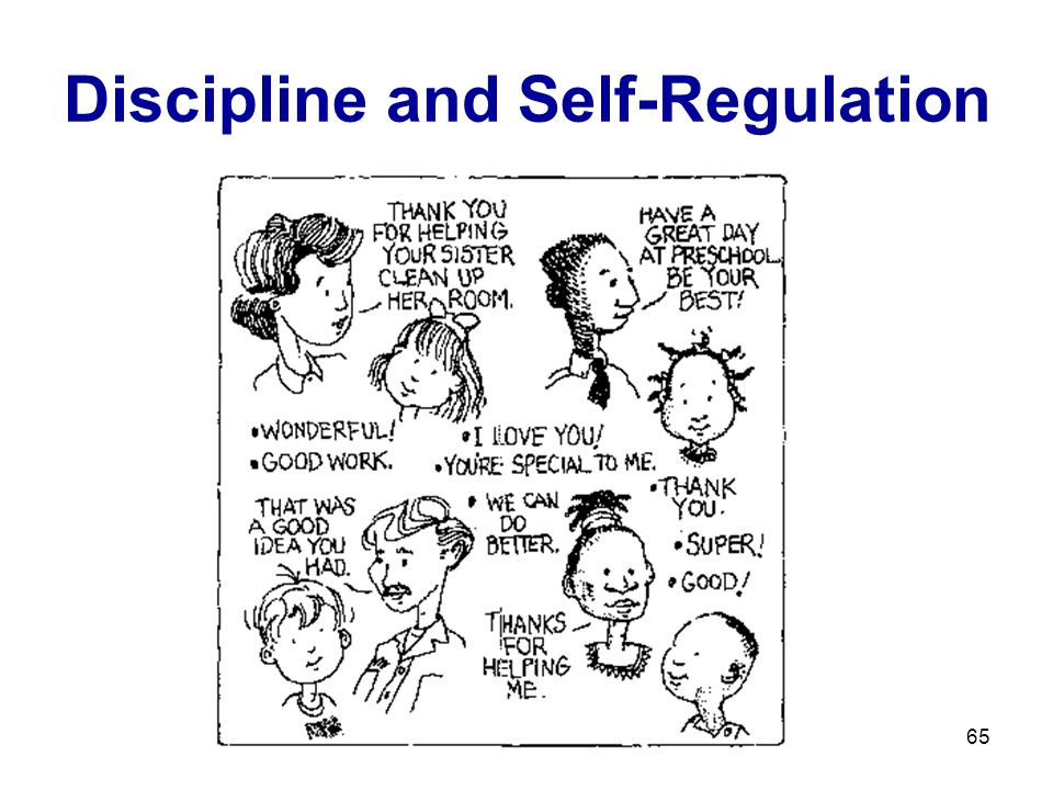 Discipline and Self-Regulation