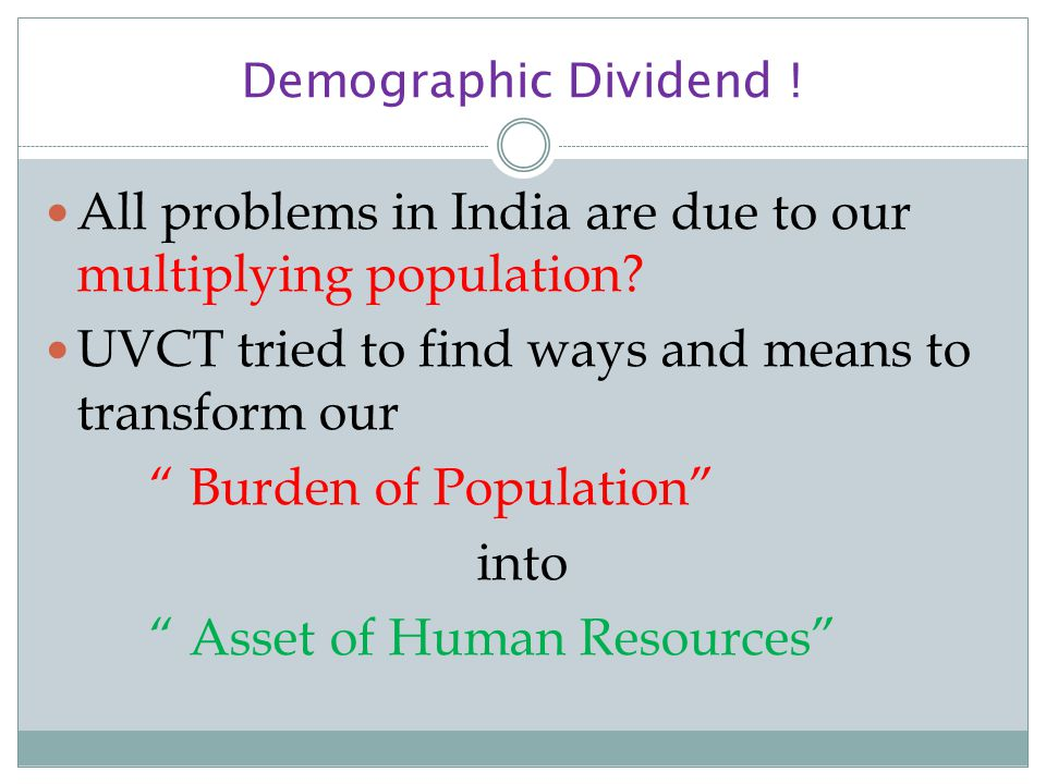 All problems in India are due to our multiplying population