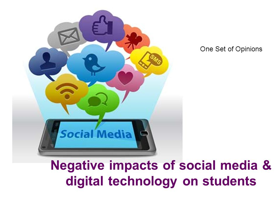 ppt of impact of media on students Assessed the impact of interactive technologies on teaching and learning in principles to educational technology by having students become creators and.