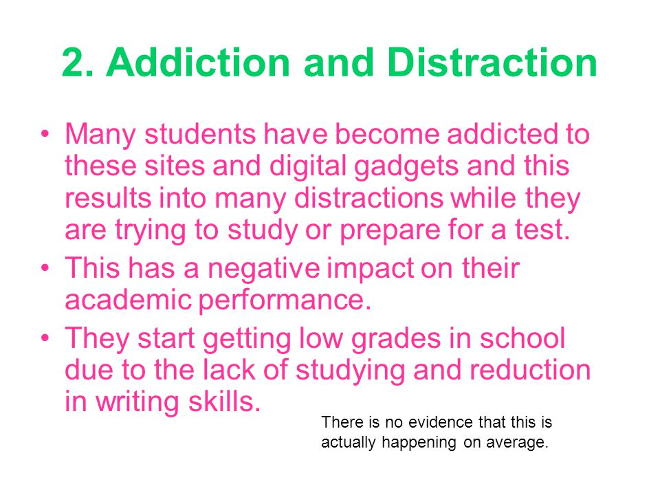 2. Addiction and Distraction