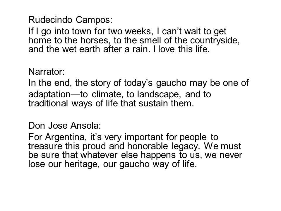 Rudecindo Campos: