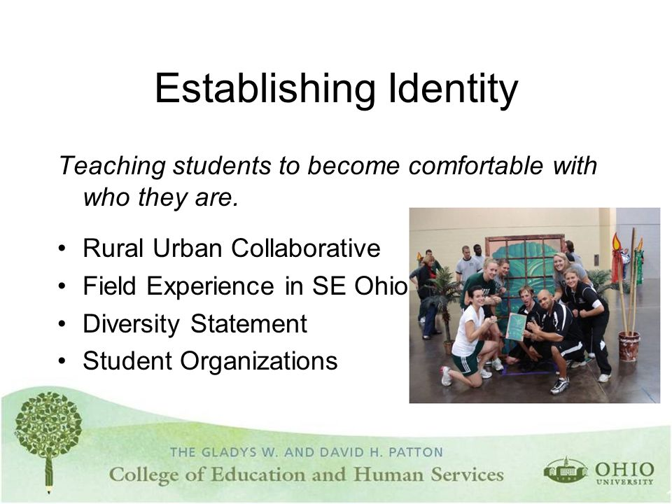 Establishing Identity