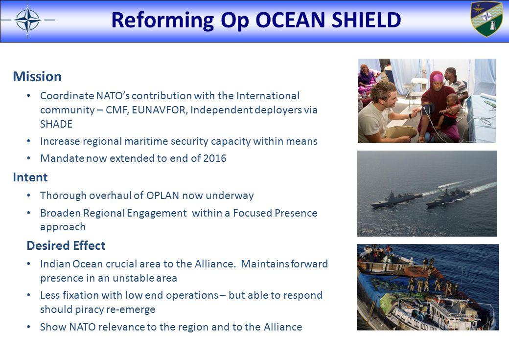Reforming Op OCEAN SHIELD