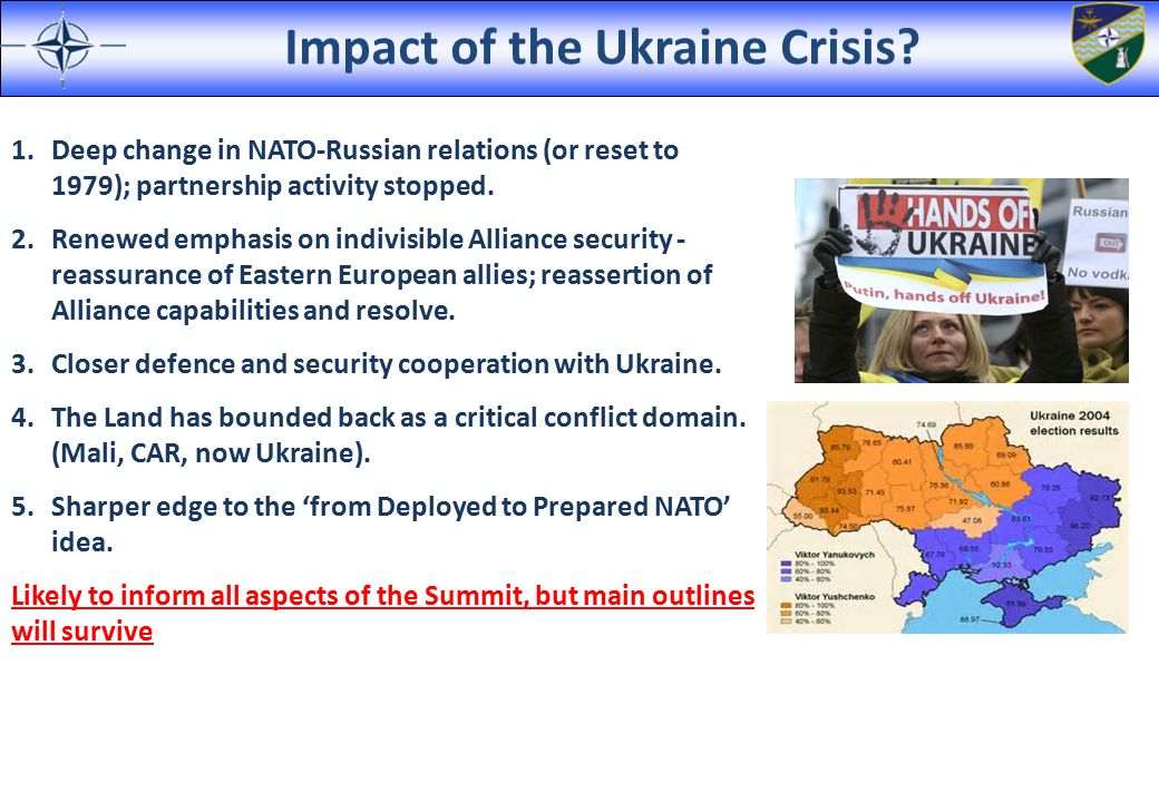 Impact of the Ukraine Crisis