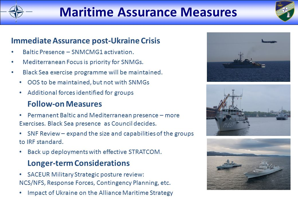 Maritime Assurance Measures