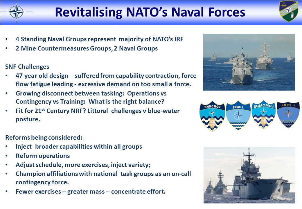 Revitalising NATO's Naval Forces