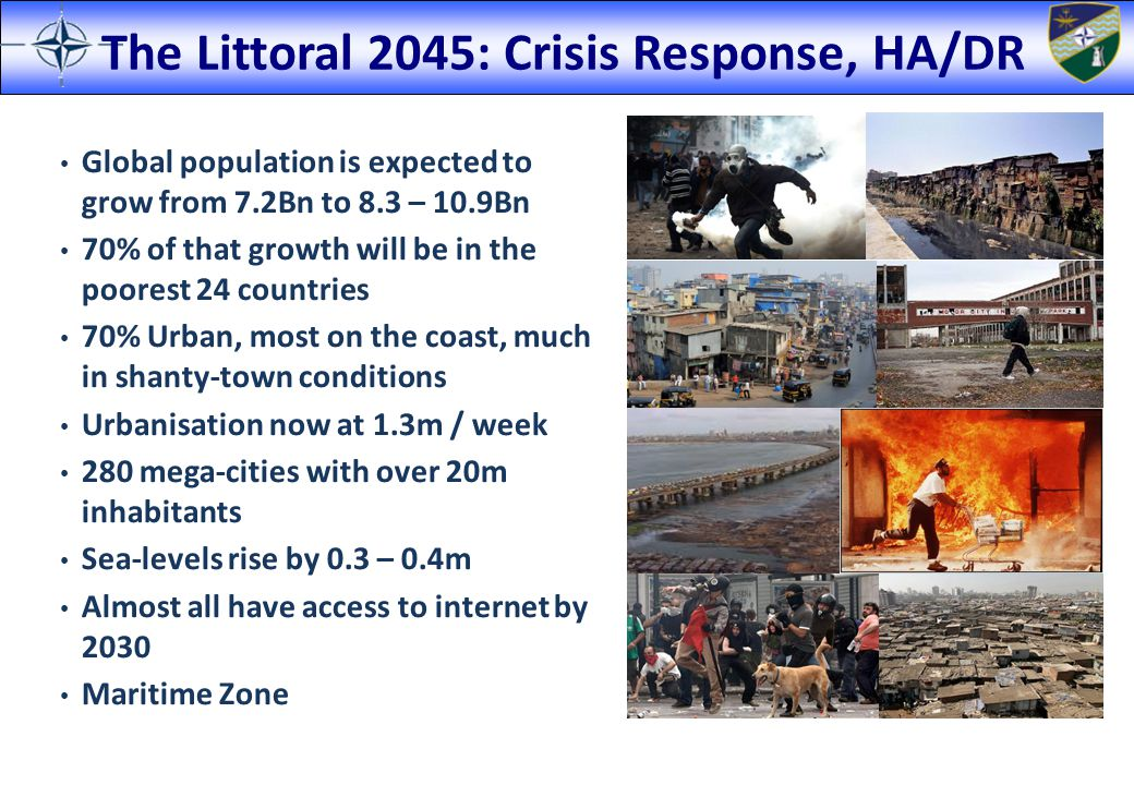 The Littoral 2045: Crisis Response, HA/DR