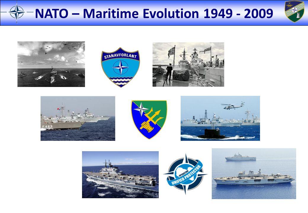 NATO – Maritime Evolution 1949 - 2009