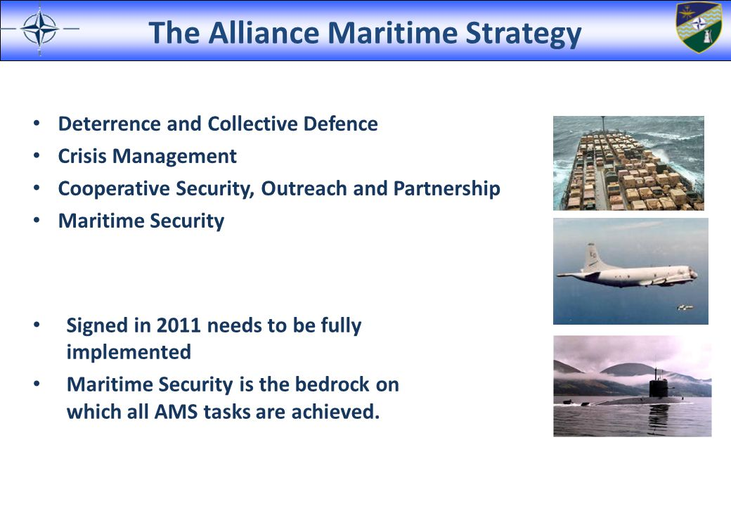 The Alliance Maritime Strategy