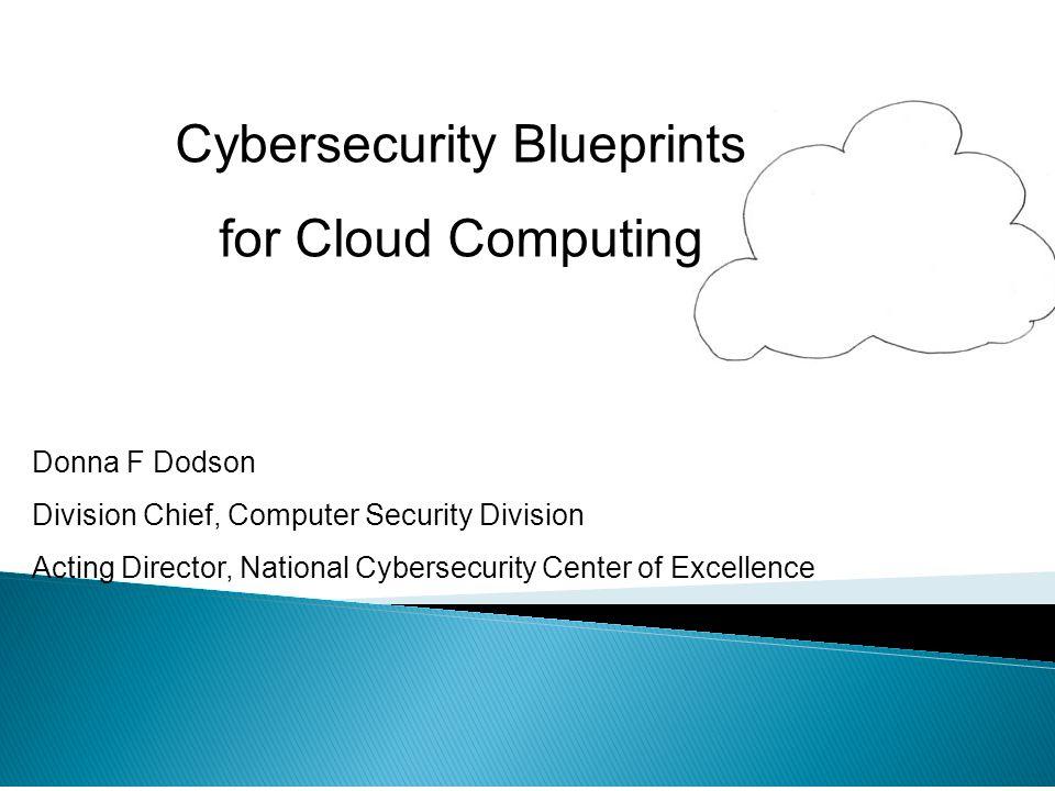 Cybersecurity Blueprints