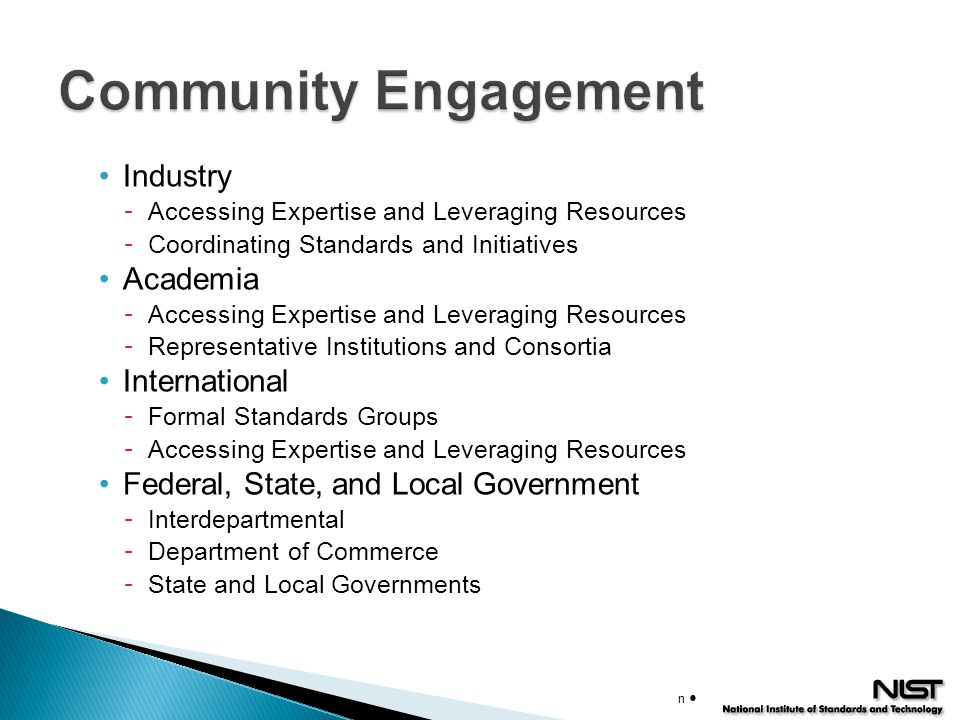 Community Engagement Industry Academia International