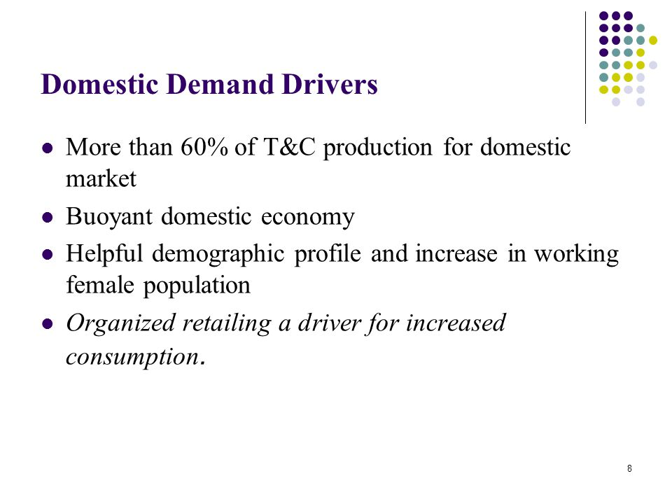 Domestic Demand Drivers