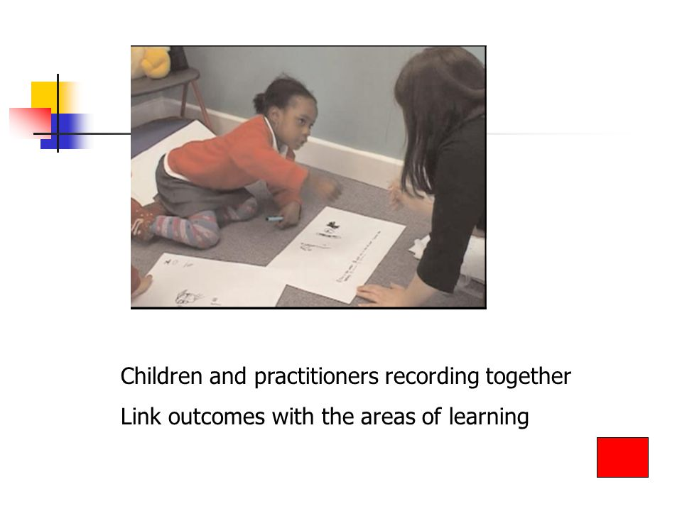 Children and practitioners recording together