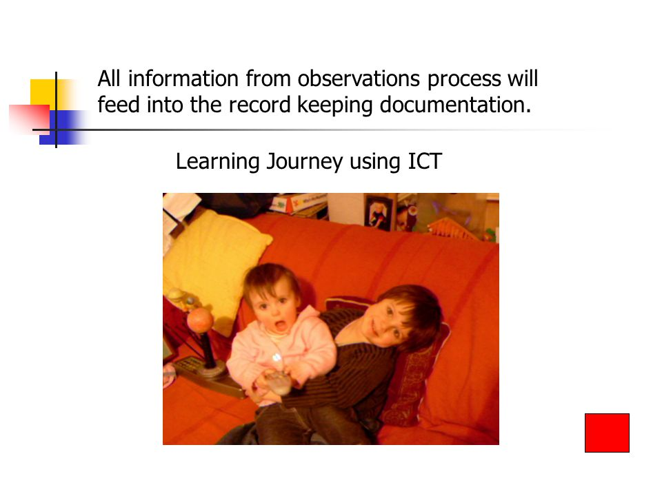 Learning Journey using ICT
