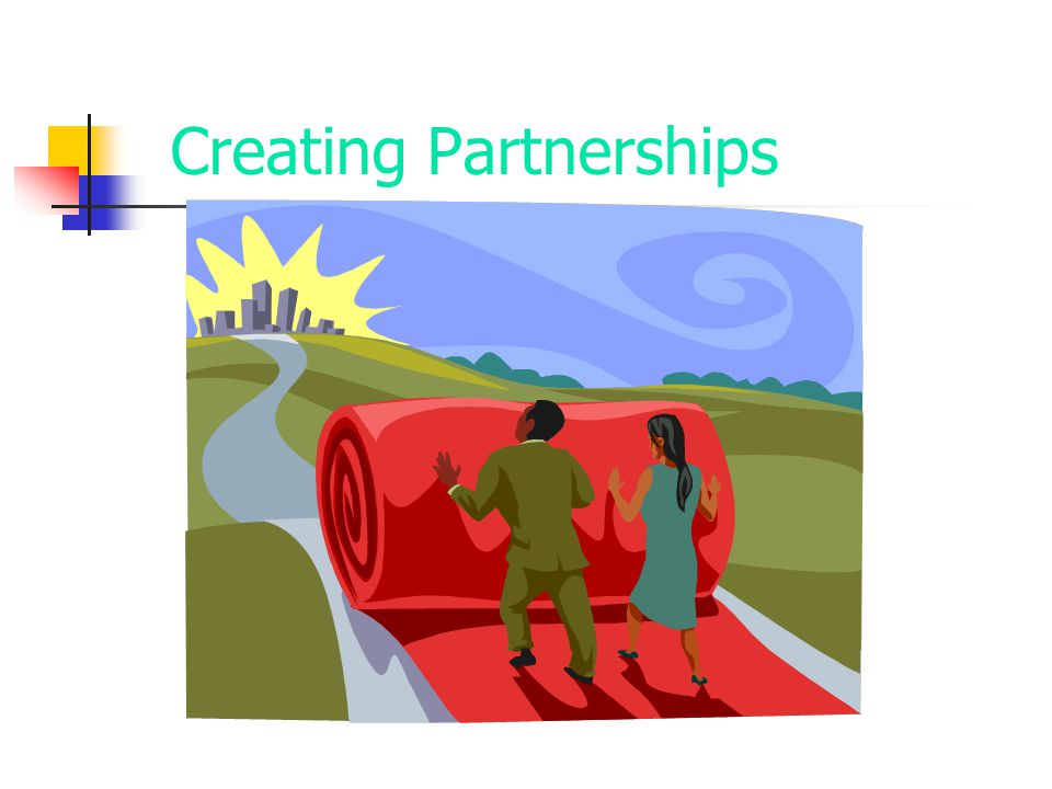 Creating Partnerships