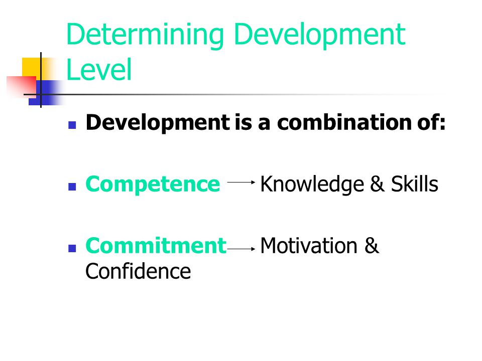 Determining Development Level