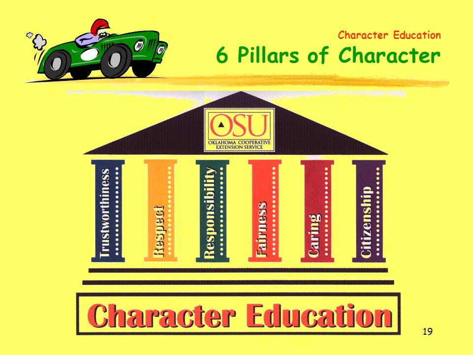 Character Education 6 Pillars of Character