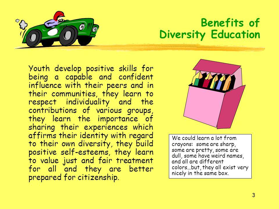 Benefits of Diversity Education