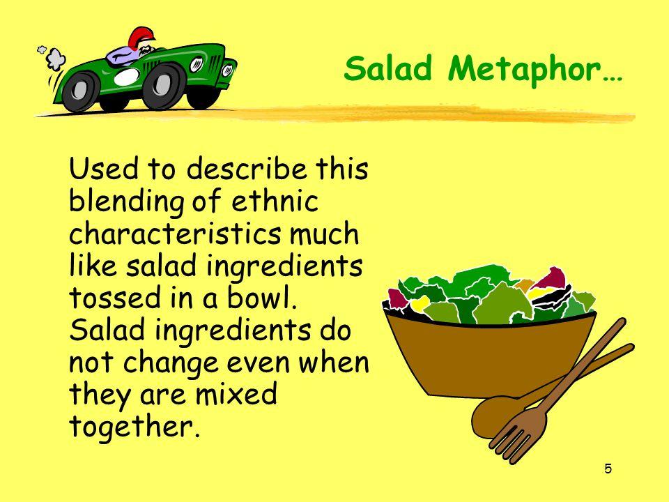 Salad Metaphor…