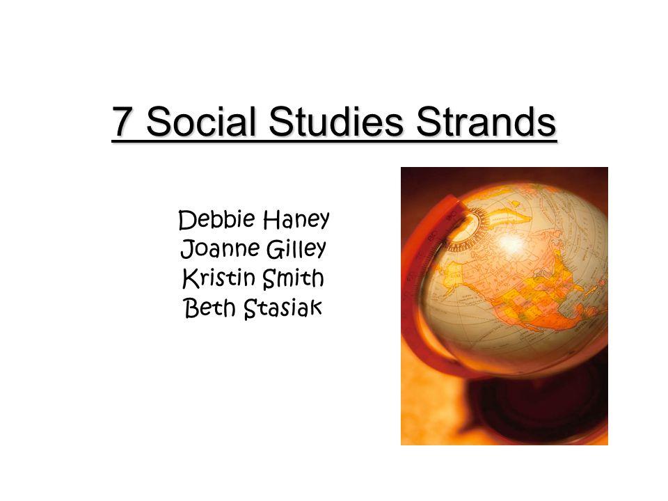 7 Social Studies Strands