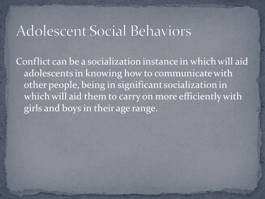 Adolescent Social Behaviors