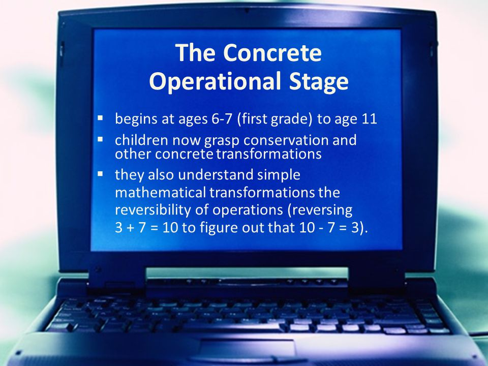 The Concrete Operational Stage