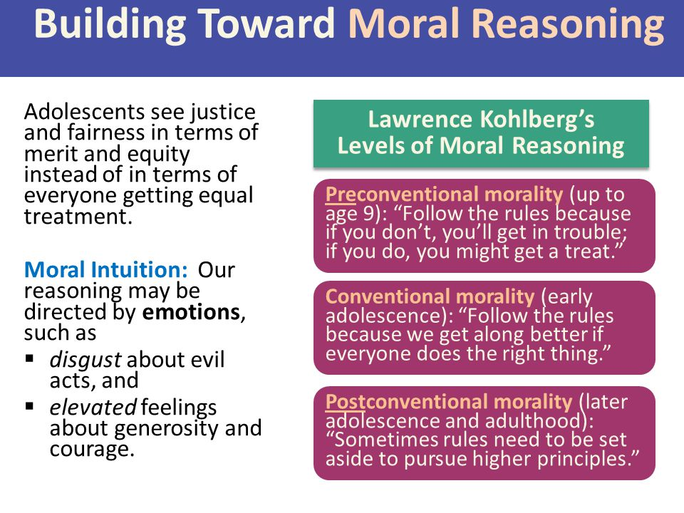 Building Toward Moral Reasoning