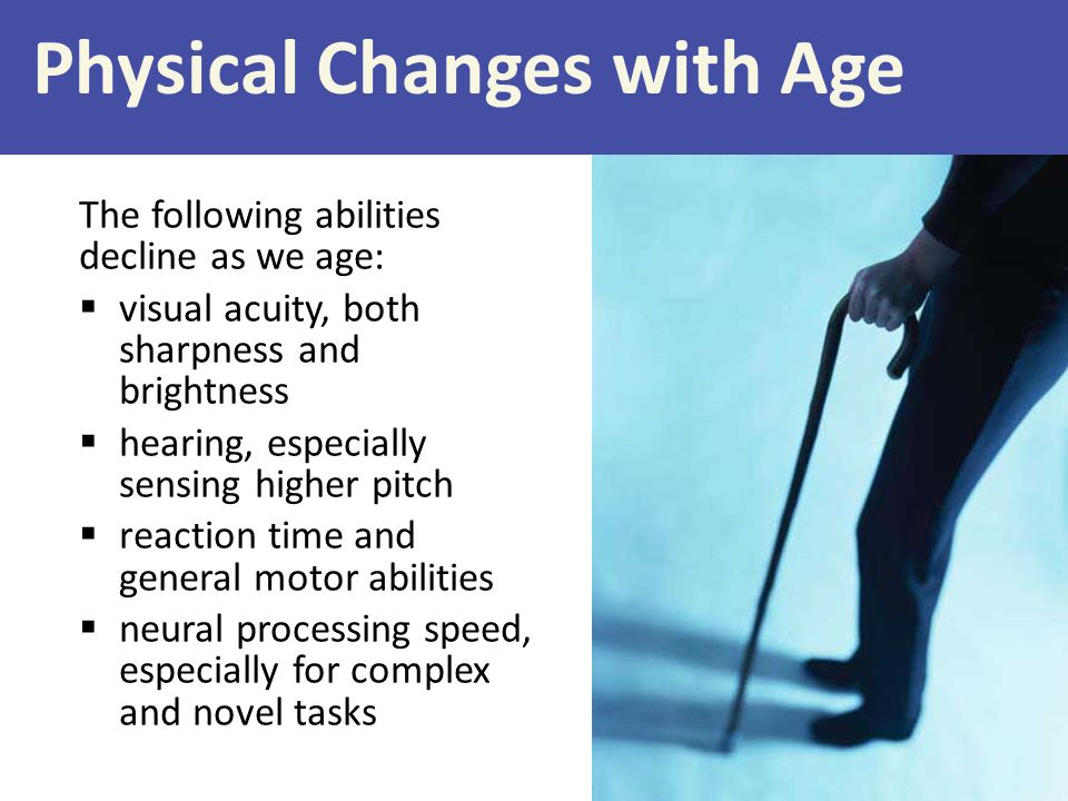 Physical Changes with Age