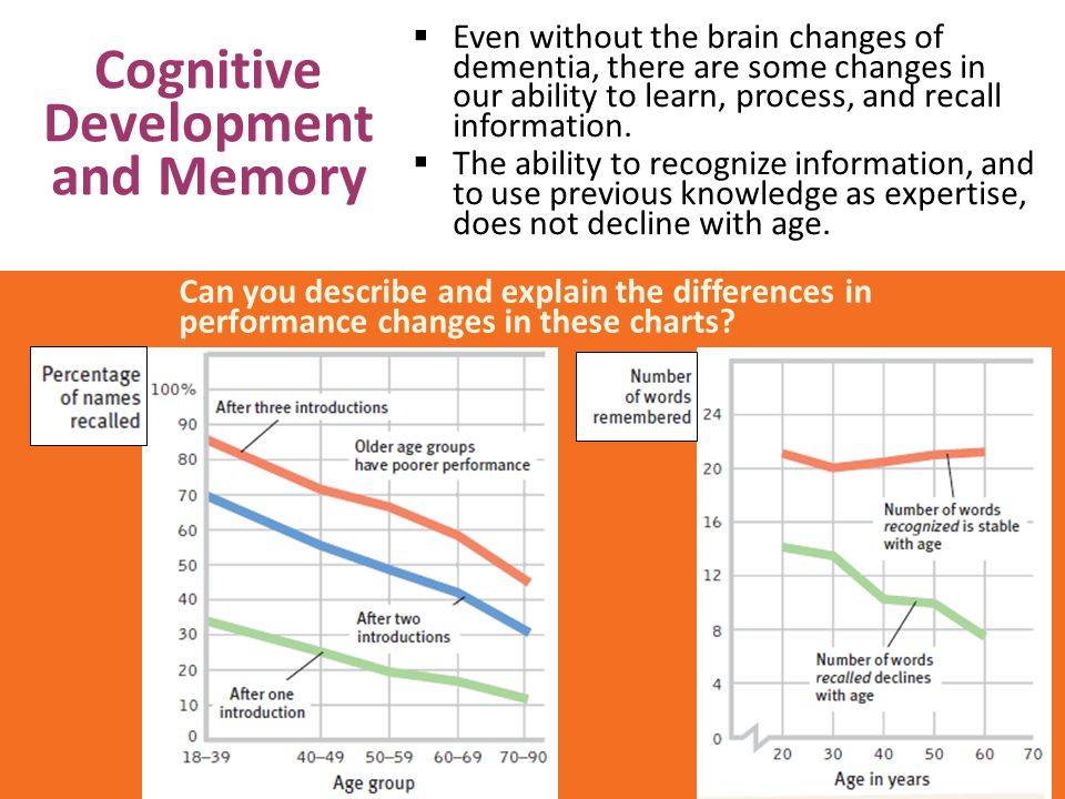 Cognitive Development and Memory