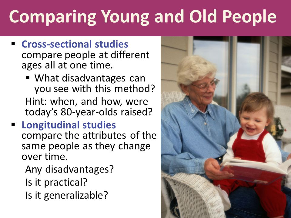 Comparing Young and Old People