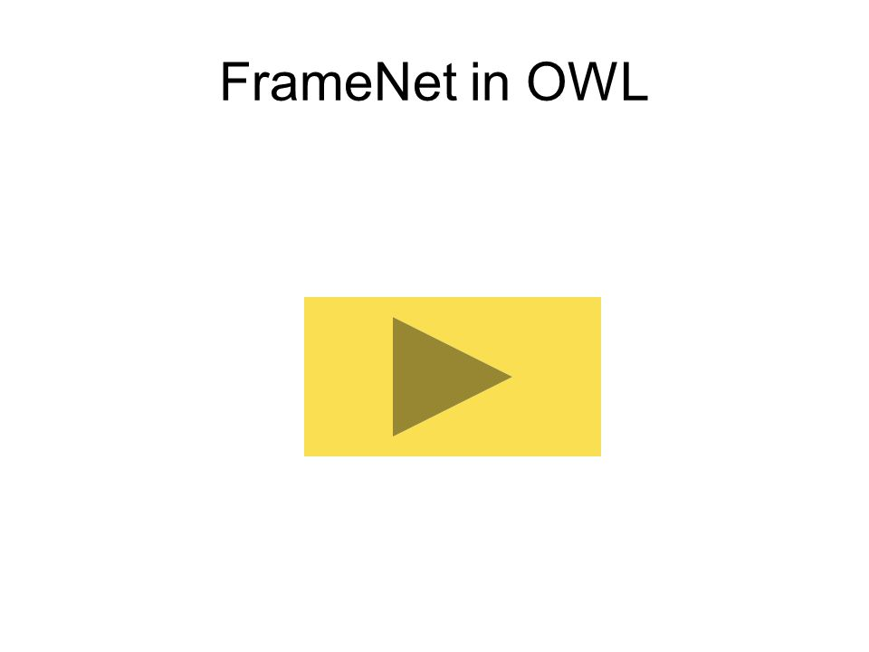 FrameNet in OWL