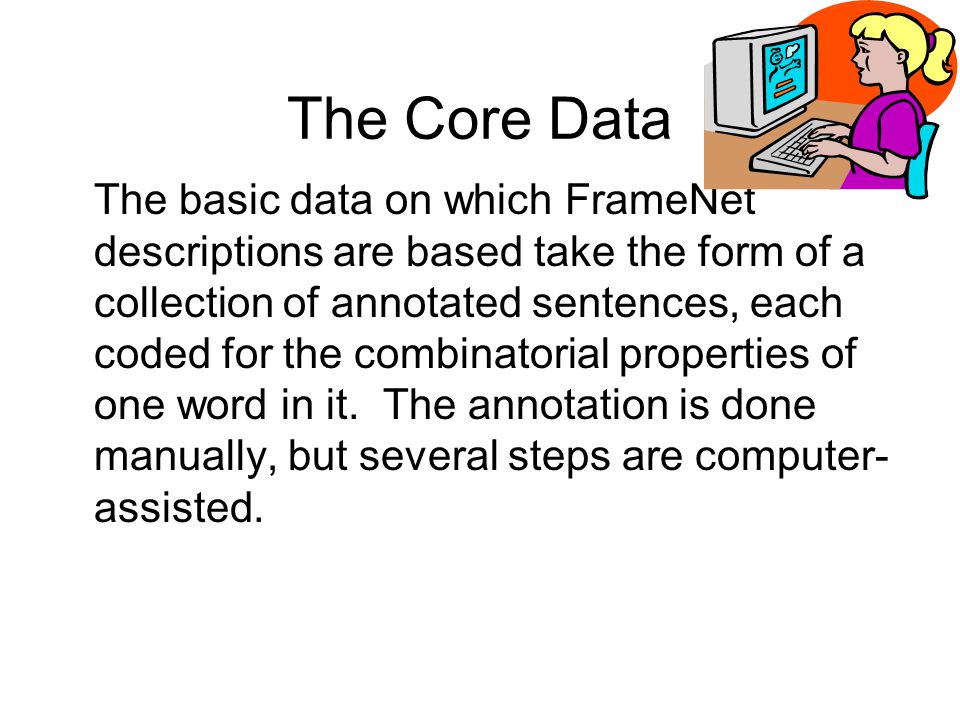 The Core Data