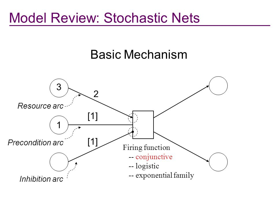 Model Review: Stochastic Nets