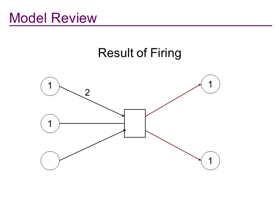 Model Review Result of Firing 1 2