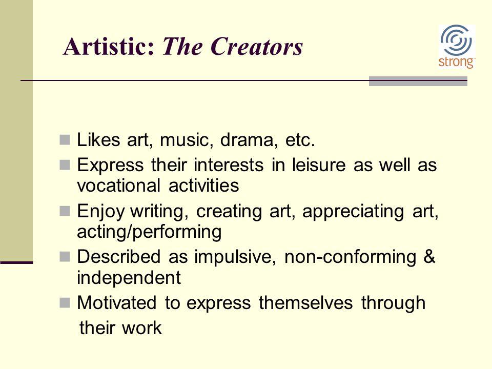 Artistic: The Creators