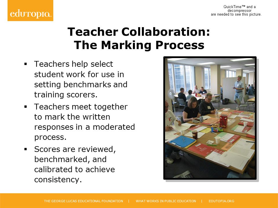 Teacher Collaboration: The Marking Process