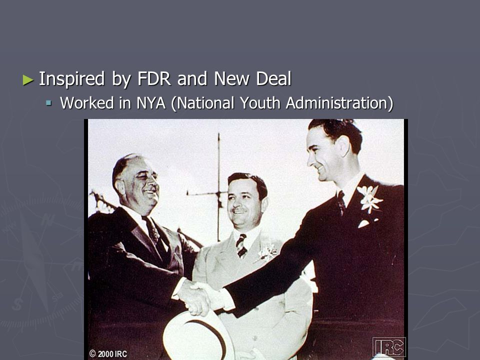 Inspired by FDR and New Deal