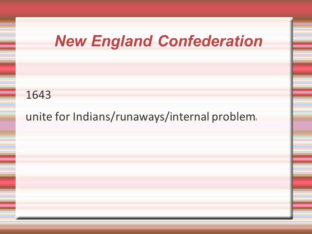 New England Confederation