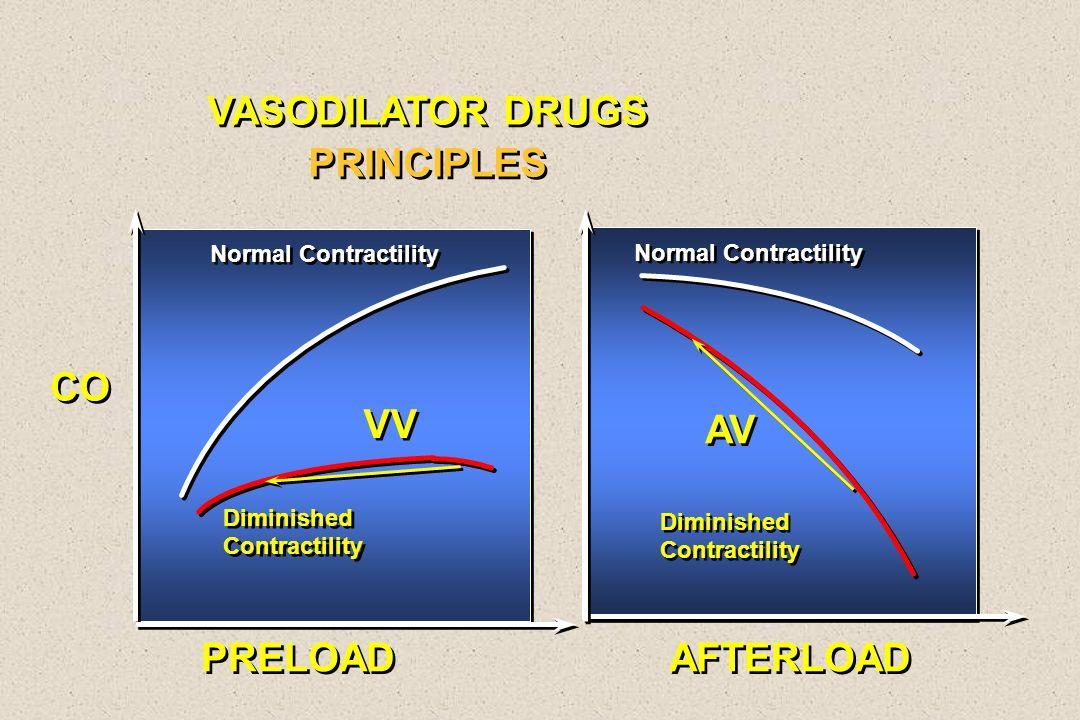 VASODILATOR DRUGS PRINCIPLES