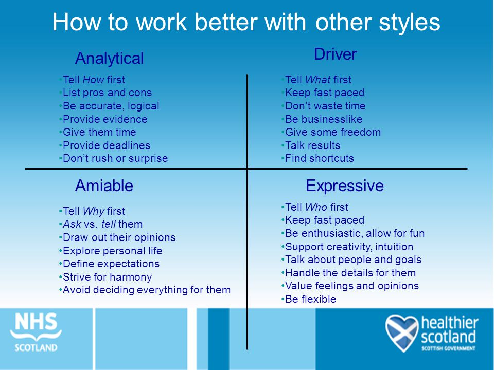 How to work better with other styles