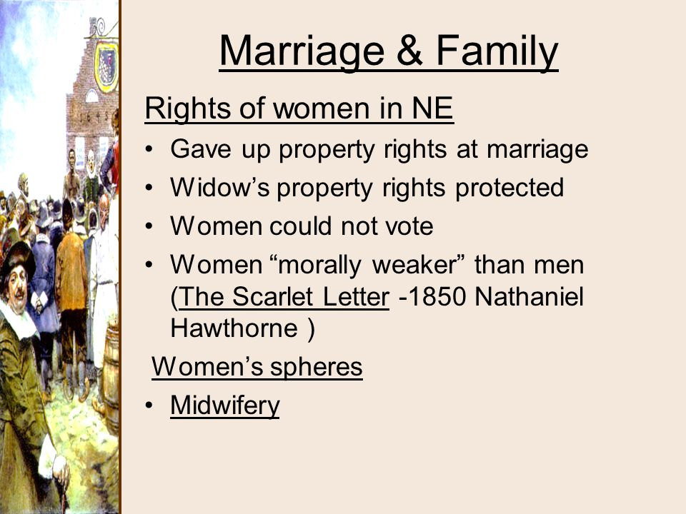 Marriage & Family Rights of women in NE