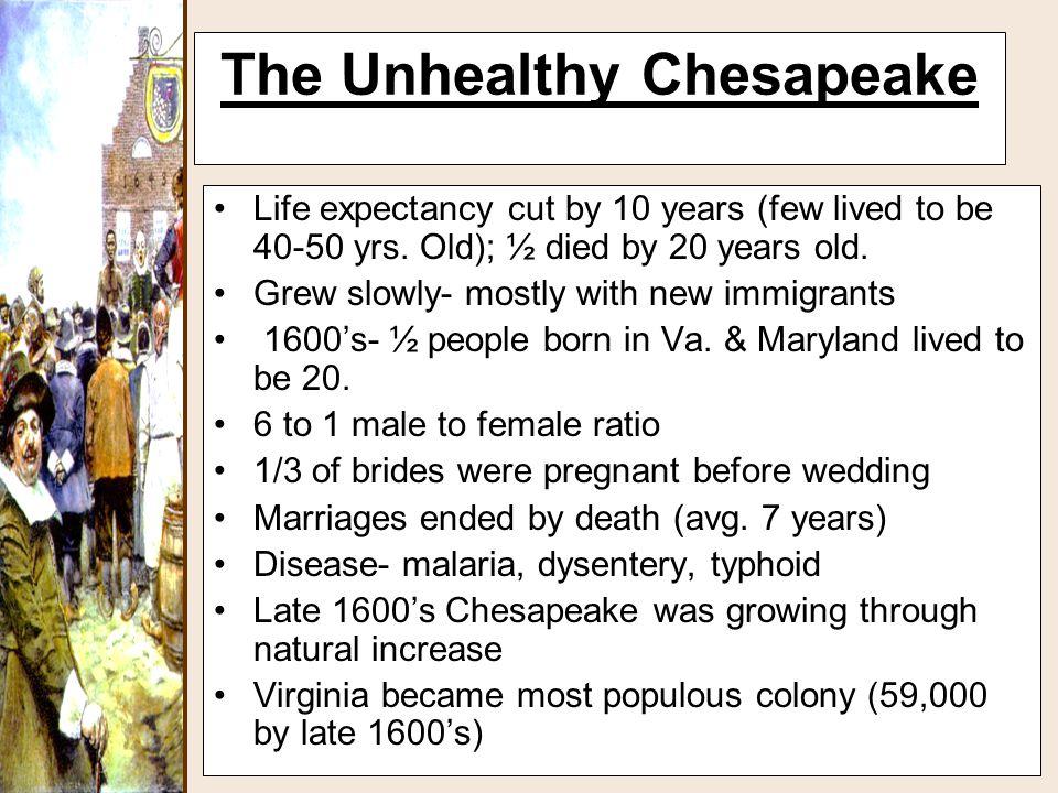 The Unhealthy Chesapeake