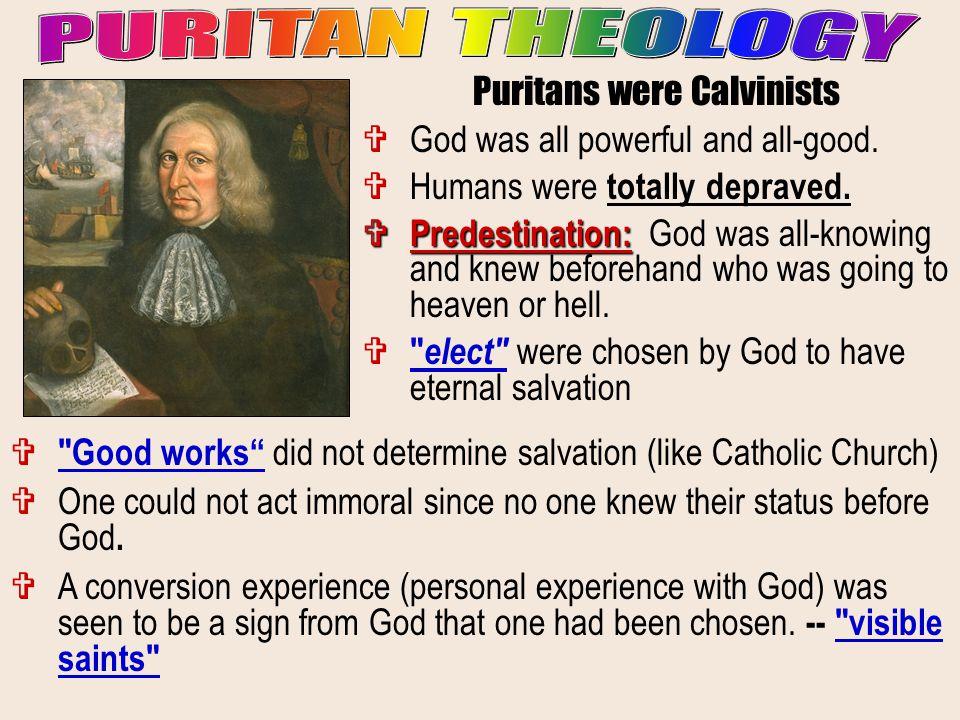 Puritans were Calvinists