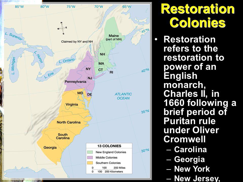 Restoration Colonies