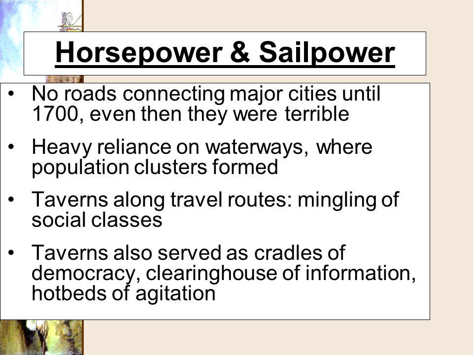 Horsepower & Sailpower