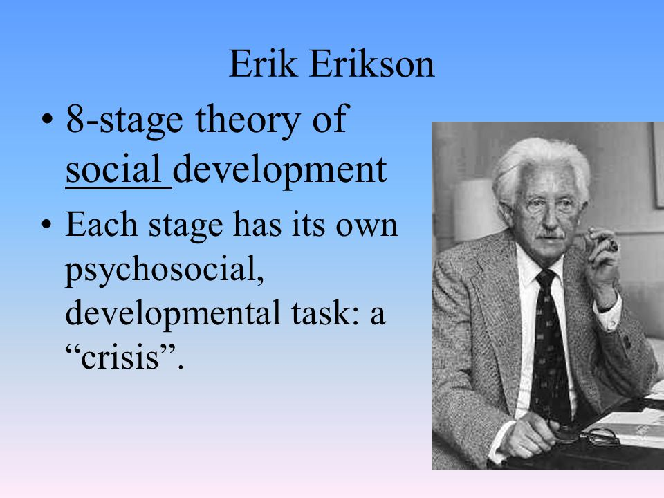 8-stage theory of social development