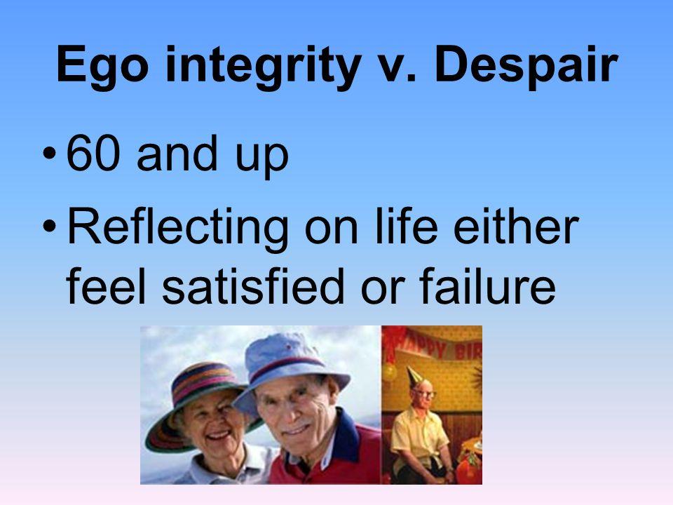 Ego integrity v. Despair
