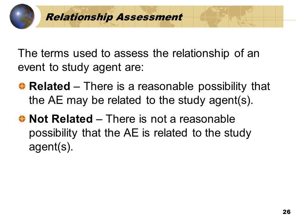 Relationship Assessment